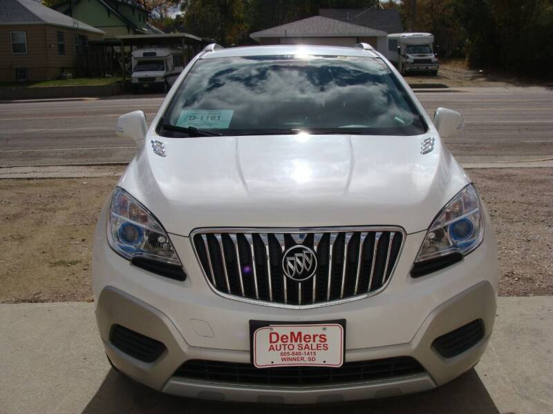 2015 Buick Encore for sale at DeMers Auto Sales in Winner SD