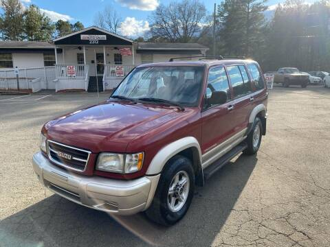 1999 Isuzu Trooper for sale at CVC AUTO SALES in Durham NC