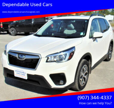 2020 Subaru Forester for sale at Dependable Used Cars in Anchorage AK
