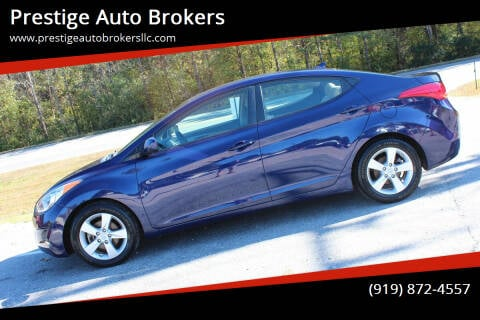 2013 Hyundai Elantra for sale at Prestige Auto Brokers in Raleigh NC