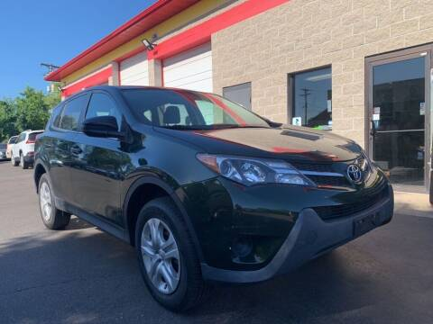 2013 Toyota RAV4 for sale at MIDWEST CAR SEARCH in Fridley MN