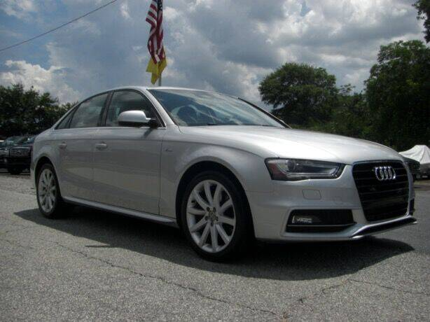 2014 Audi A4 for sale at Manquen Automotive in Simpsonville SC