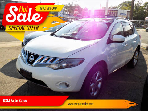 2009 Nissan Murano for sale at GSM Auto Sales in Linden NJ