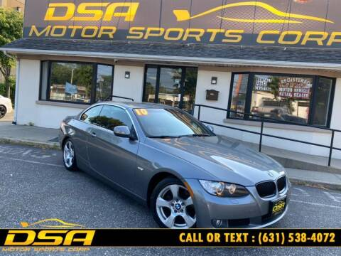 2010 BMW 3 Series for sale at DSA Motor Sports Corp in Commack NY