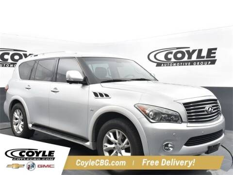 2014 Infiniti QX80 for sale at COYLE GM - COYLE NISSAN - New Inventory in Clarksville IN