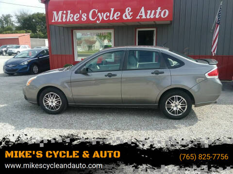 2011 Ford Focus for sale at MIKE'S CYCLE & AUTO in Connersville IN