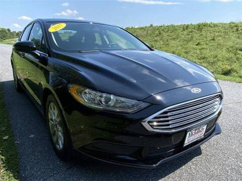 2017 Ford Fusion for sale at Mr. Car City in Brentwood MD
