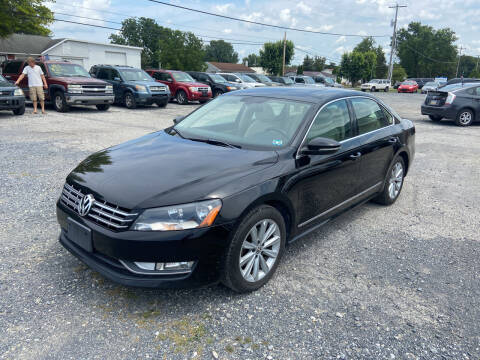 2012 Volkswagen Passat for sale at US5 Auto Sales in Shippensburg PA