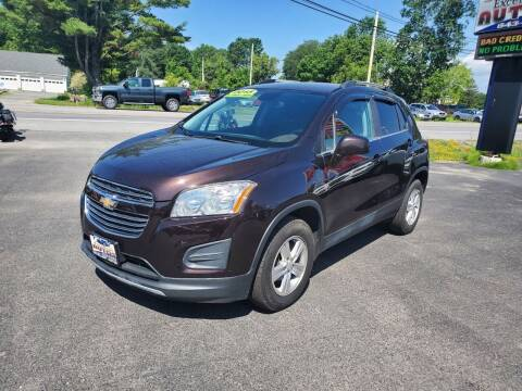 2015 Chevrolet Trax for sale at Excellent Autos in Amsterdam NY