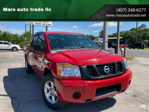 2009 Nissan Titan for sale at Mars auto trade llc in Kissimmee FL