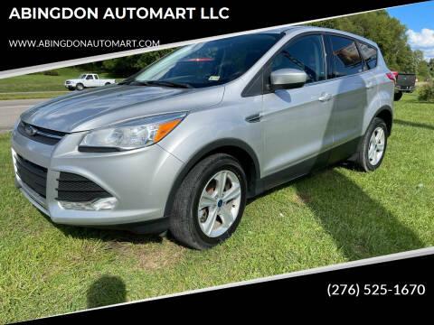 2016 Ford Escape for sale at ABINGDON AUTOMART LLC in Abingdon VA