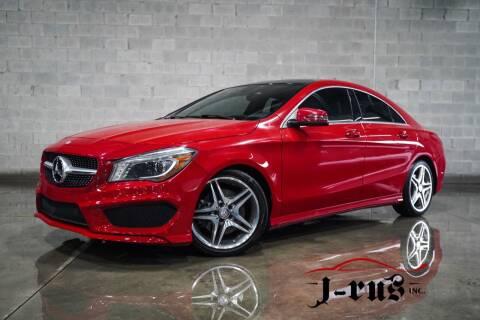 2014 Mercedes-Benz CLA for sale at J-Rus Inc. in Macomb MI