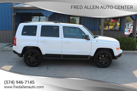 2013 Jeep Patriot for sale at Fred Allen Auto Center in Winamac IN