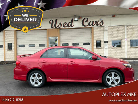 2012 Toyota Corolla for sale at Autoplex 2 in Milwaukee WI