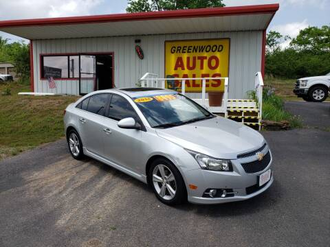 2014 Chevrolet Cruze for sale at Greenwood Auto Sales in Greenwood AR
