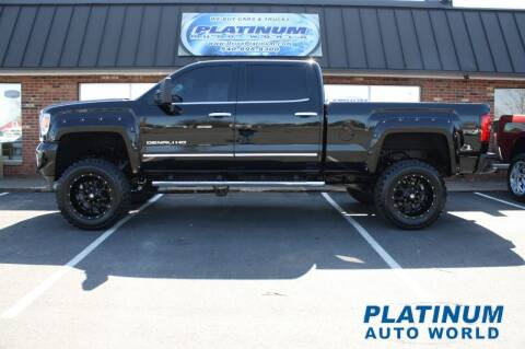 2015 GMC Sierra 2500HD for sale at Platinum Auto World in Fredericksburg VA