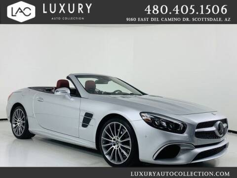 2018 Mercedes-Benz SL-Class for sale at Luxury Auto Collection in Scottsdale AZ