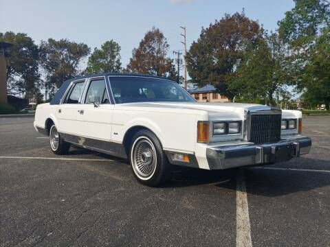 1989 Lincoln Town Car for sale at Viking Auto Group in Bethpage NY