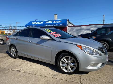 2011 Hyundai Sonata for sale at Gonzalez Auto Sales in Joliet IL
