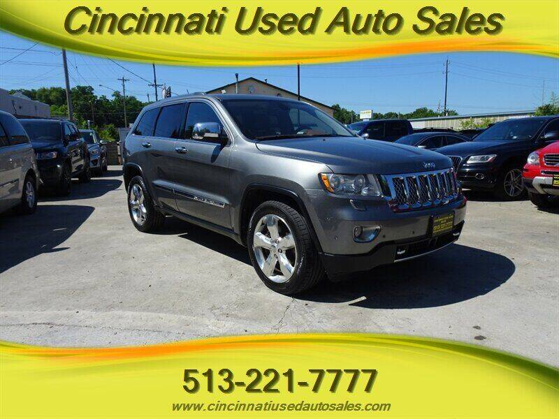 2013 Jeep Grand Cherokee for sale at Cincinnati Used Auto Sales in Cincinnati OH