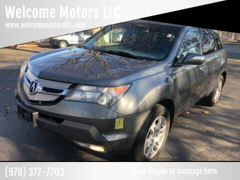 2008 Acura MDX for sale at Welcome Motors LLC in Haverhill MA