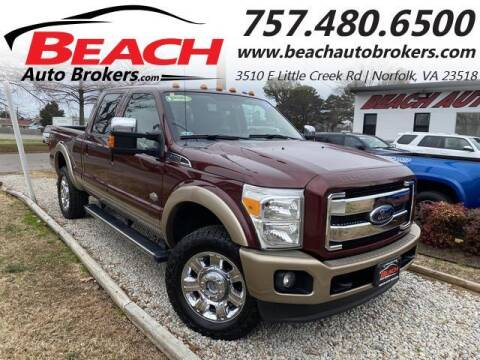 2012 Ford F-350 Super Duty for sale at Beach Auto Brokers in Norfolk VA