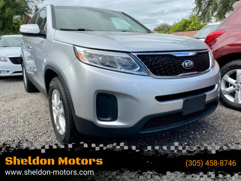 2014 Kia Sorento for sale at Sheldon Motors in Tampa FL