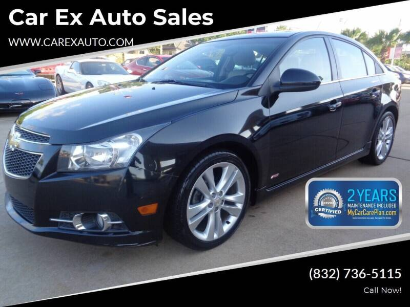 2011 Chevrolet Cruze for sale at Car Ex Auto Sales in Houston TX
