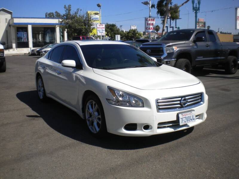 2014 Nissan Maxima for sale at AUTO SELLERS INC in San Diego CA