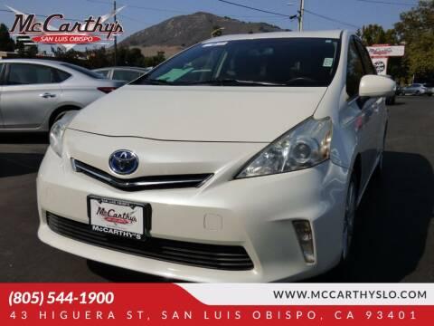 2012 Toyota Prius v for sale at McCarthy Wholesale in San Luis Obispo CA