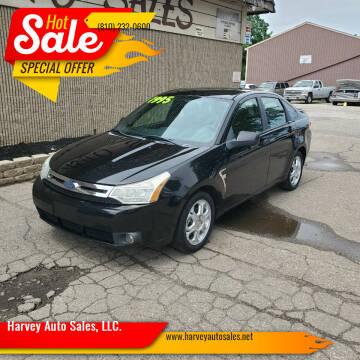 2008 Ford Focus for sale at Harvey Auto Sales, LLC. in Flint MI