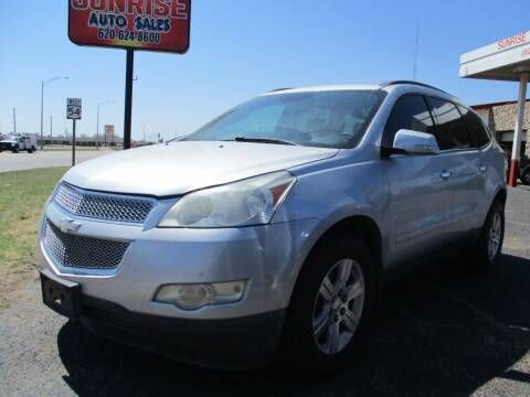 2012 Chevrolet Traverse for sale at Sunrise Auto Sales in Liberal KS