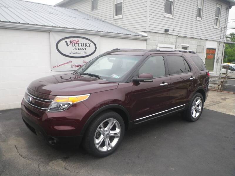 2011 Ford Explorer for sale at VICTORY AUTO in Lewistown PA