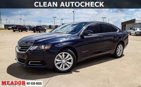 2019 Chevrolet Impala for sale at Meador Dodge Chrysler Jeep RAM in Fort Worth TX