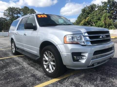 2016 Ford Expedition EL for sale at Guru Auto Sales in Miramar FL