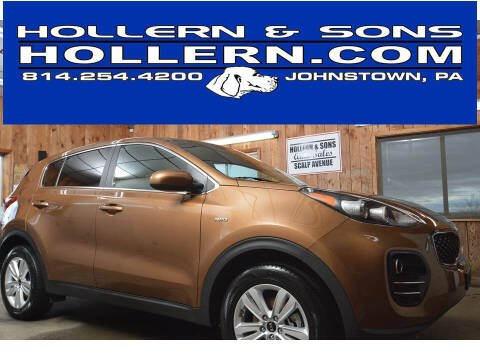 2018 Kia Sportage for sale at Hollern & Sons Auto Sales in Johnstown PA