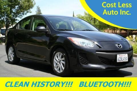 2013 Mazda MAZDA3 for sale at Cost Less Auto Inc. in Rocklin CA