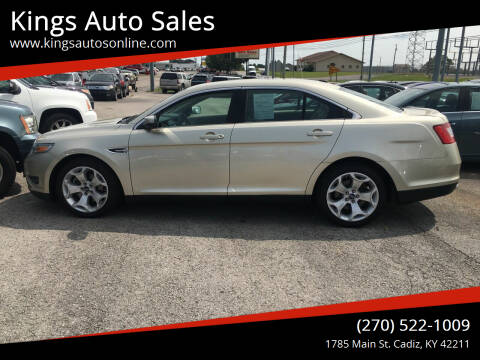 2010 Ford Taurus for sale at Kings Auto Sales in Cadiz KY