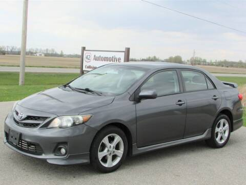 2012 Toyota Corolla for sale at 42 Automotive in Delaware OH