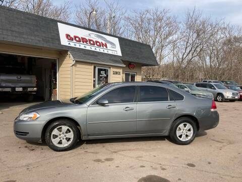 2008 Chevrolet Impala for sale at Gordon Auto Sales LLC in Sioux City IA