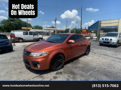 2010 Kia Forte Koup for sale at Hot Deals On Wheels in Tampa FL
