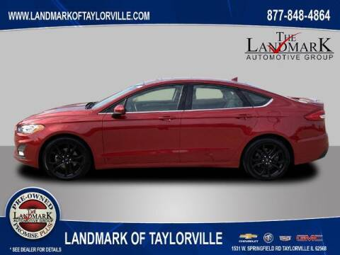 2020 Ford Fusion for sale at LANDMARK OF TAYLORVILLE in Taylorville IL
