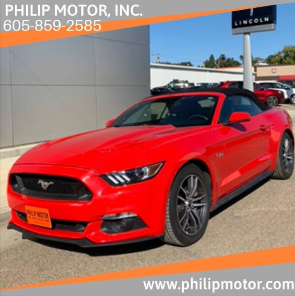 2015 Ford Mustang for sale at Philip Motor Inc in Philip SD