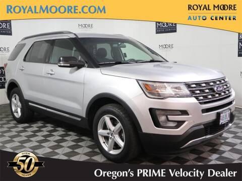 2017 Ford Explorer for sale at Royal Moore Custom Finance in Hillsboro OR