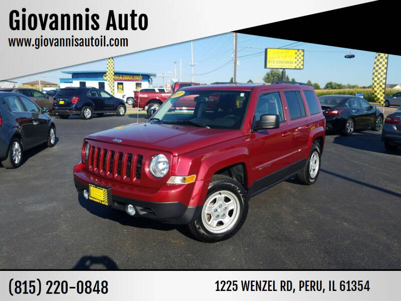 2017 Jeep Patriot for sale at Giovannis Auto in Peru IL
