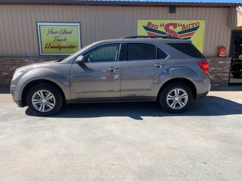 2011 Chevrolet Equinox for sale at BIG 'S' AUTO & TRACTOR SALES in Blanchard OK