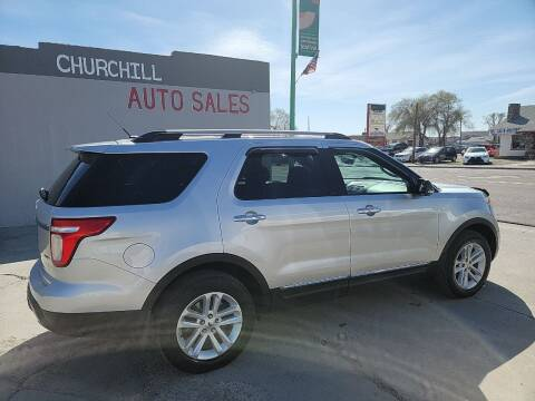 2013 Ford Explorer for sale at CHURCHILL AUTO SALES in Fallon NV
