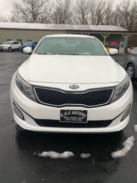 2015 Kia Optima for sale at RHK Motors LLC in West Union OH