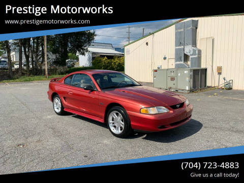1998 Ford Mustang for sale at Prestige Motorworks in Concord NC