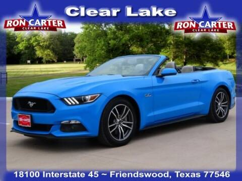 2017 Ford Mustang for sale at Ron Carter  Clear Lake Used Cars in Houston TX